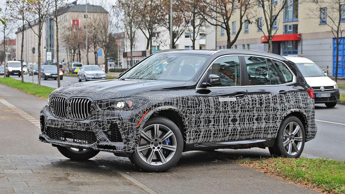 BMW X5 Facelift 2021 Erlkönig