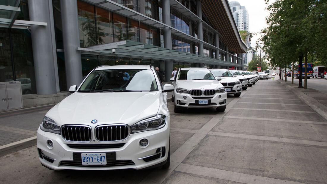 BMW X5, Frontansicht