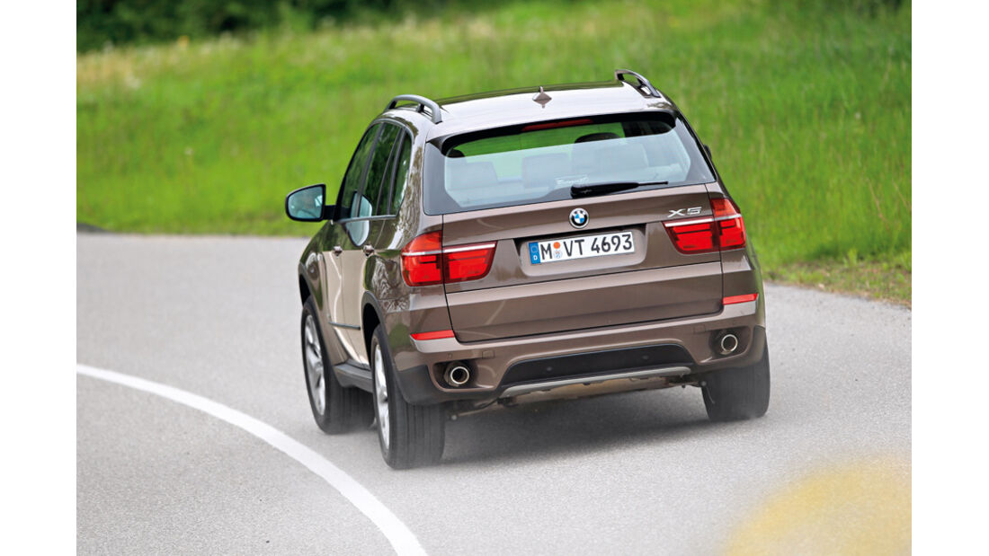 BMW X5, Heck