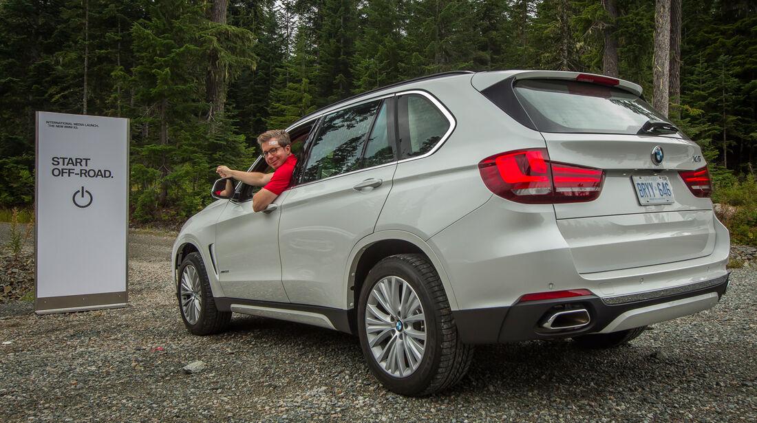 BMW X5, Heckansicht