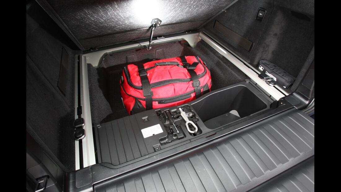 BMW X5, Kofferaum