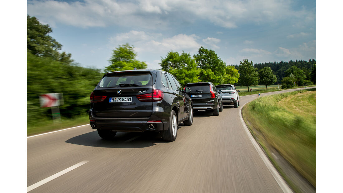 BMW X5, Land Rover Discovery, Volvo XC 90, AMS1517