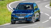 BMW X5, Lichttest