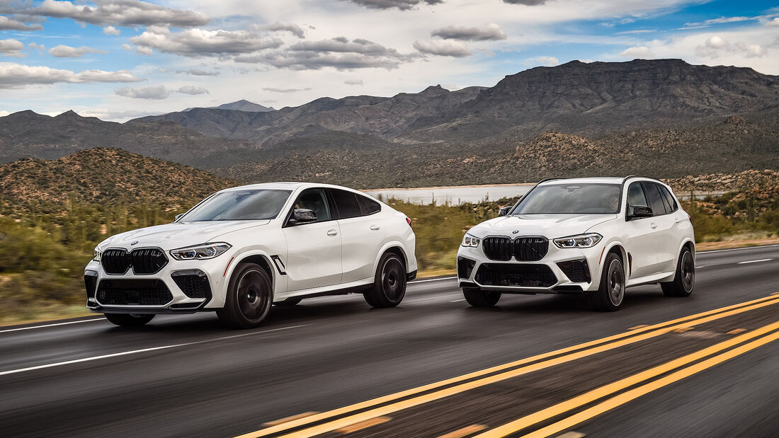 BMW X5 M Competition, BMW X6 M Competition