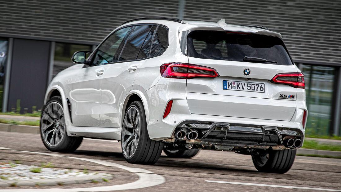 BMW X5 M Competition, Exterieur
