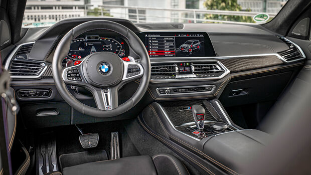 BMW X5 M Competition, Interieur
