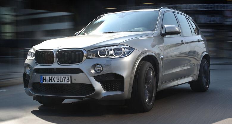 BMW X5 M, Frontansicht