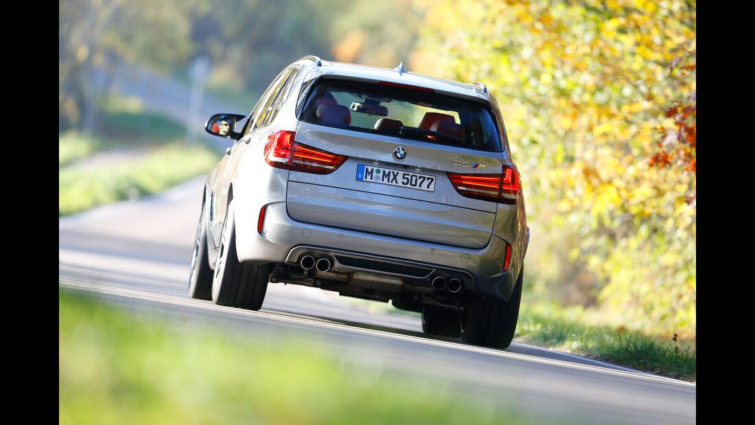 BMW X5 M, Heckansicht
