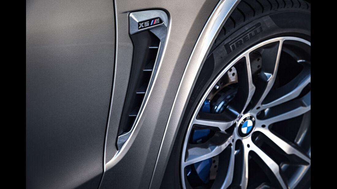 BMW X5 M - SUV - Luftauslass - Vorstellung - M GmbH - 10/2014