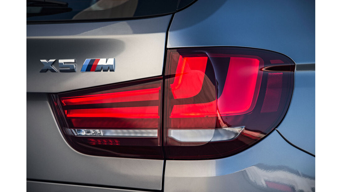 BMW X5 M - SUV - Vorstellung - Rückleuchten - M GmbH - 10/2014