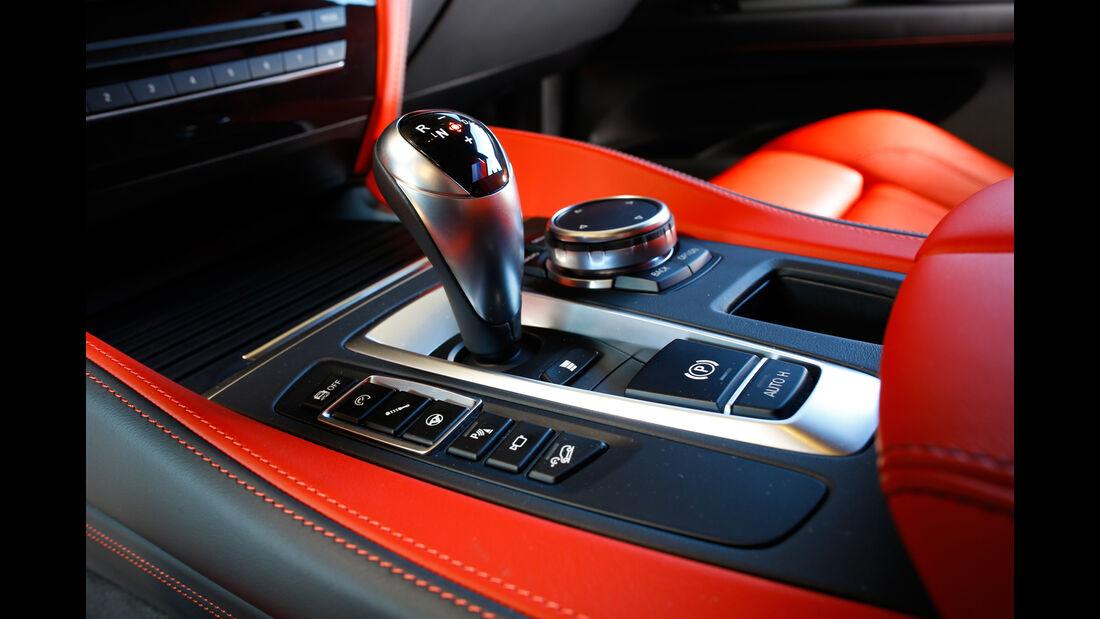 BMW X5 M, Schalthebel
