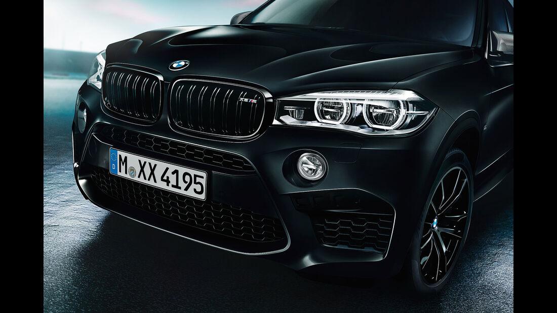 BMW X5 M und BMW X6 M Edition Black Fire
