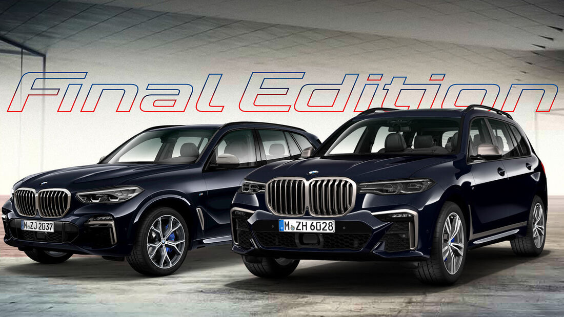 BMW X5 M50d BMW X7 M50d Final Edition Rumänien