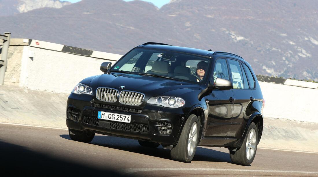 BMW X5 M50d, Frontansicht