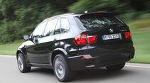 BMW X5 M50d, Heckansicht