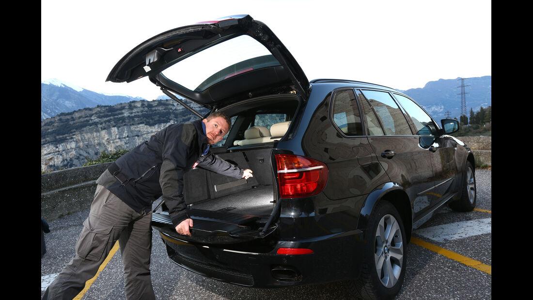 BMW X5 M50d, Heckklappe, Jens Dralle