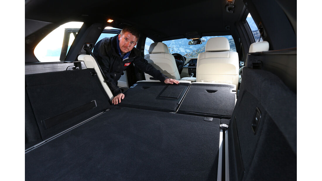 BMW X5 M50d, Ladefläche
