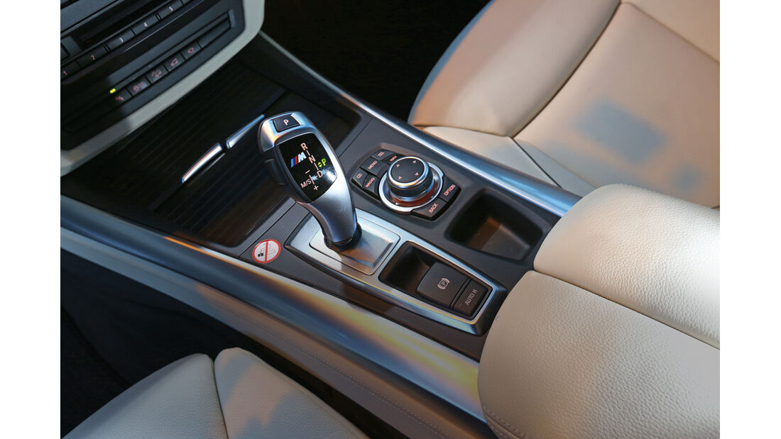 BMW X5 M50d, Mittelkonsole