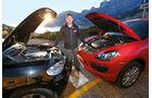 BMW X5 M50d, Porsche Cayenne S Diesel, Motorhaube, Jens Dralle