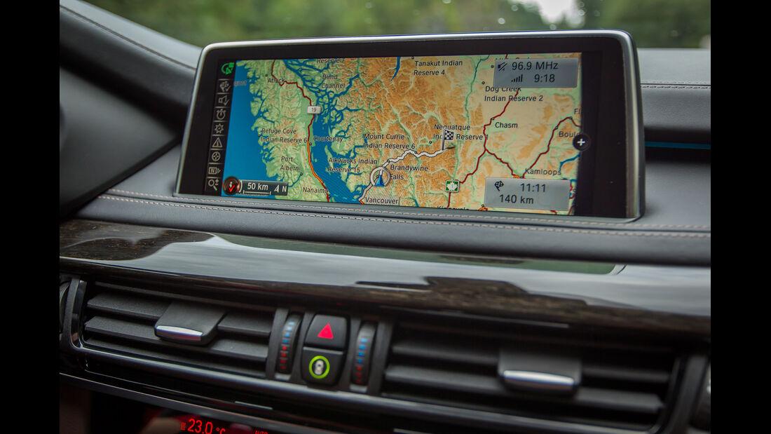 BMW X5, Navi, Monitor