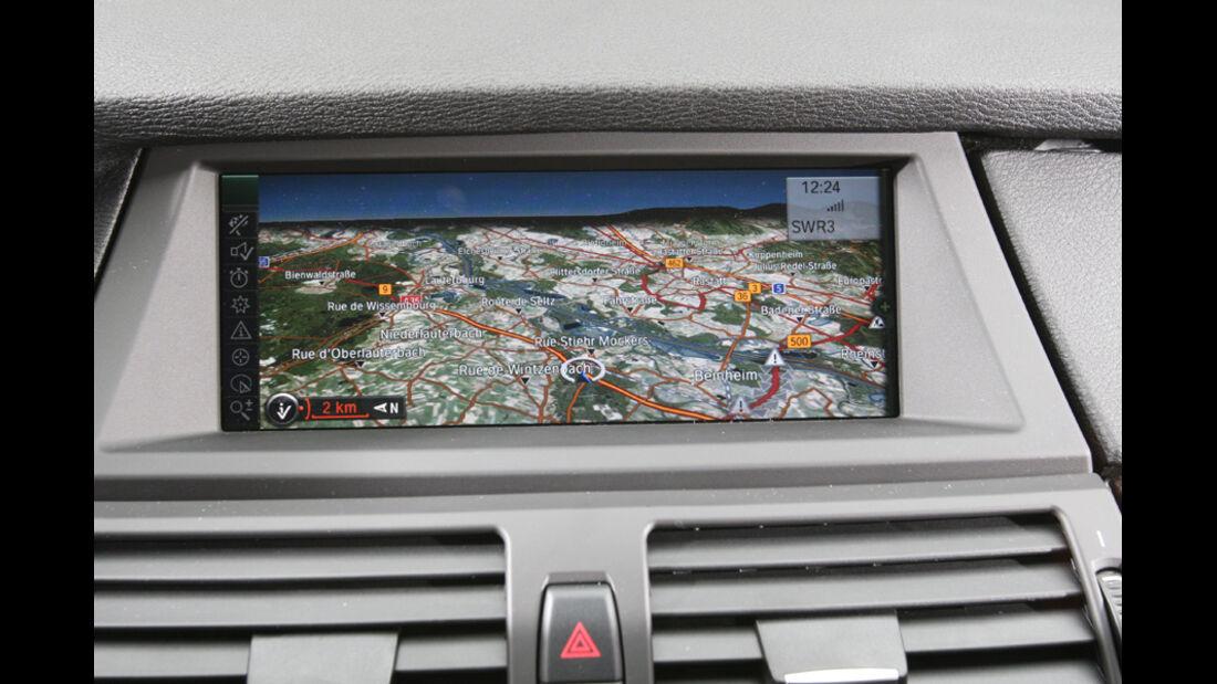 BMW X5, Navidisplay