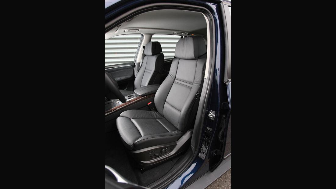 BMW X5, Sitze