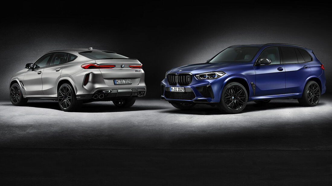 BMW X5 X6 M Competition First Edition Aufmacher
