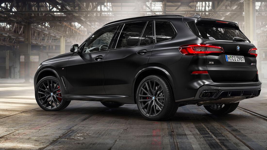 BMW X5 X6 X7 Sondermodelle Frozen Black Vermillion