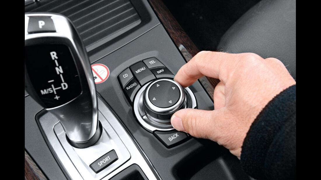 BMW X5, iDrive