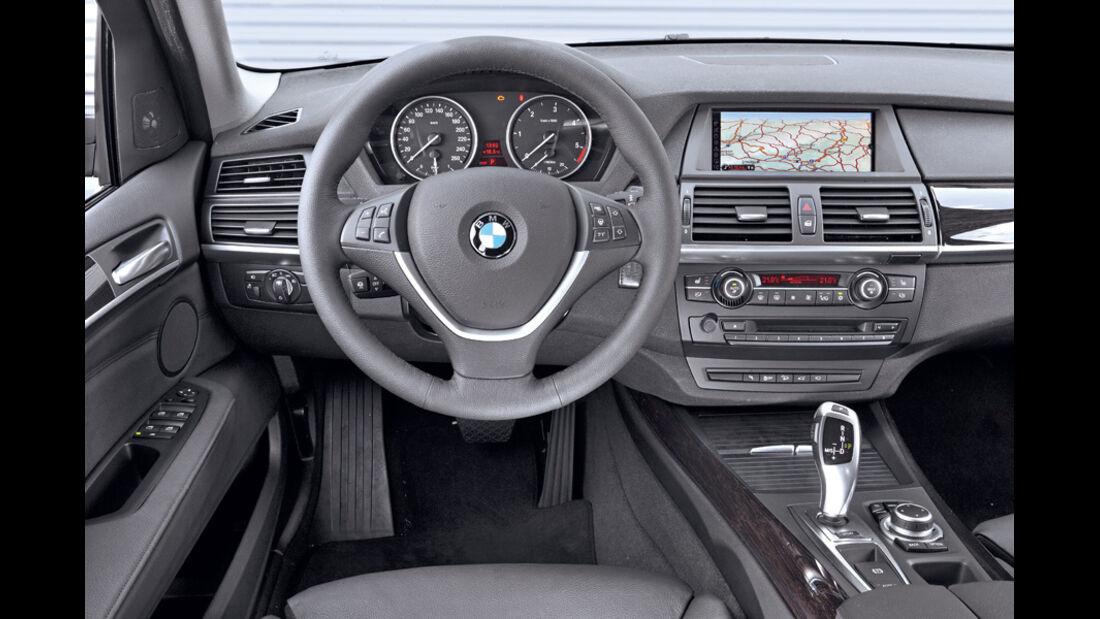 BMW X5 x-Drive 3.0d, Cockpit