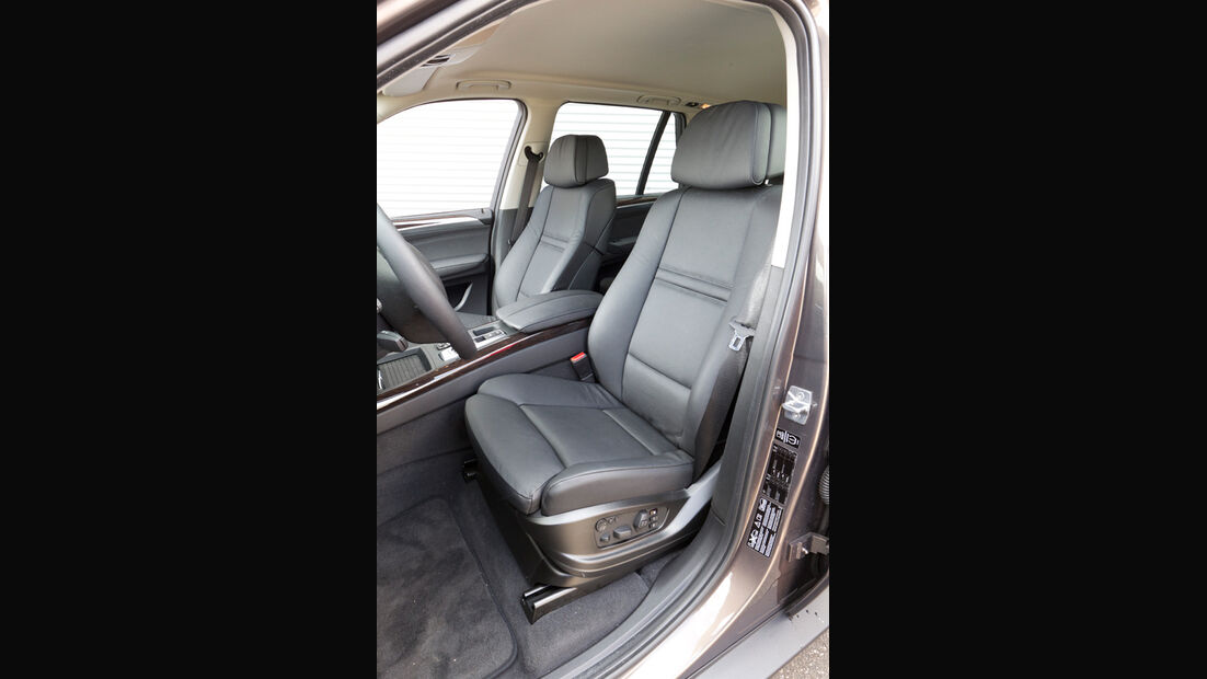 BMW X5 x-Drive 3.0d, Fahrersitz