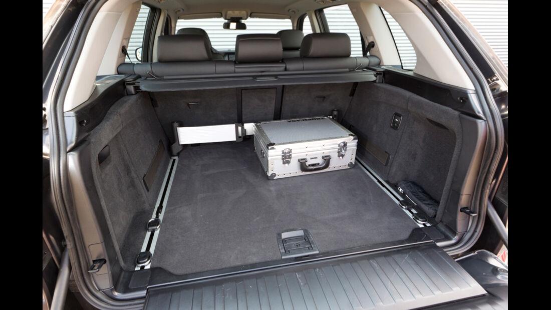 BMW X5 x-Drive 3.0d, Ladefläche, Kofferraum