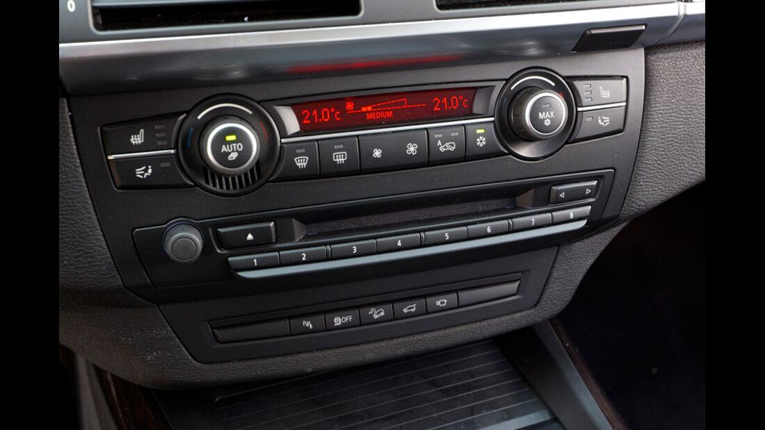 BMW X5 x-Drive 3.0d, Mittelkonsole