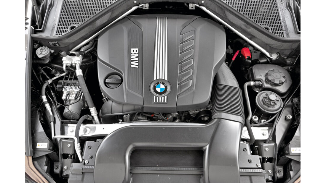BMW X5 x-Drive 3.0d, Motor