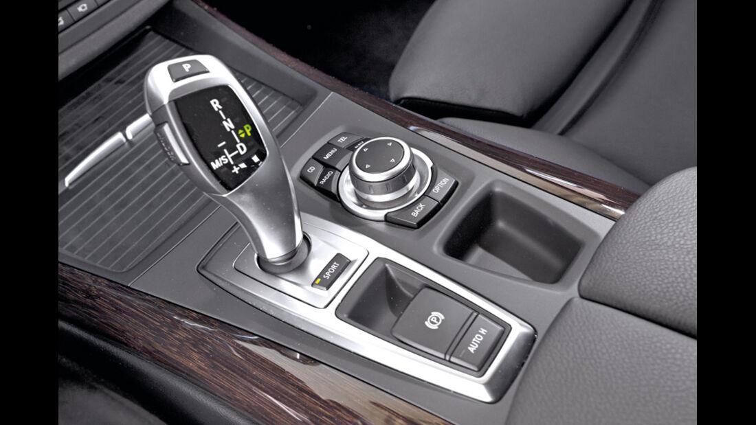 BMW X5 x-Drive 3.0d, Schalthebel, Schaltknauf