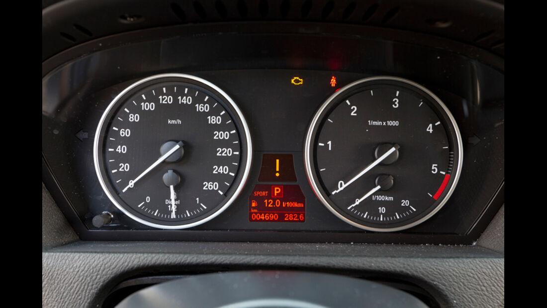 BMW X5 x-Drive 3.0d, Tacho, Anzeigeinstrumente