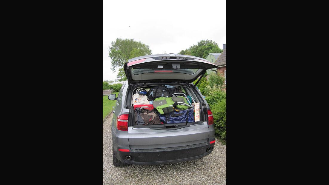 BMW X5, x-Drive 35d, Kofferraum