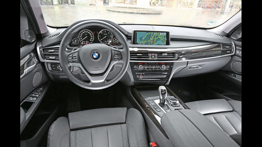 BMW X5 xDRIVE 3.0d, Cockpit