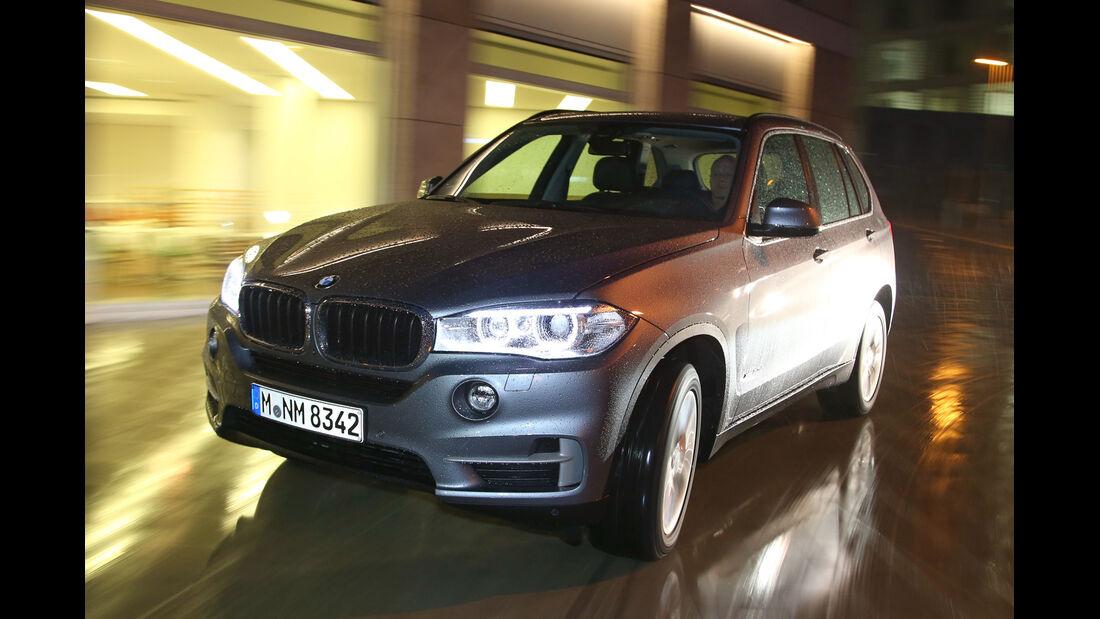 BMW X5 xDRIVE 3.0d, Frontansicht