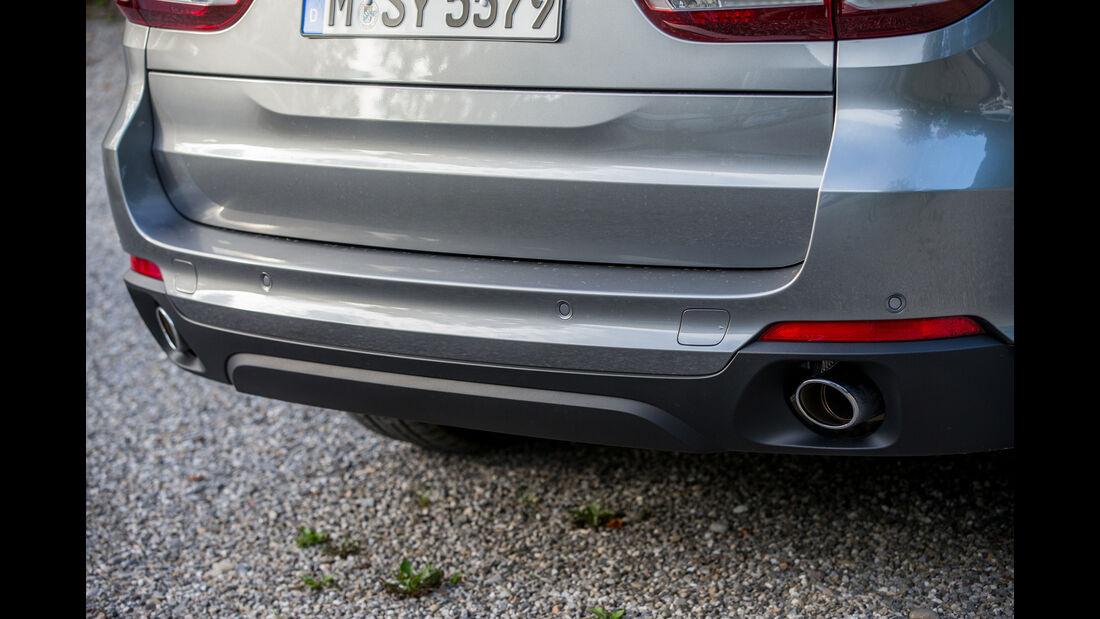 BMW X5 xDRIVE 30d, Auspuff, Endrohr
