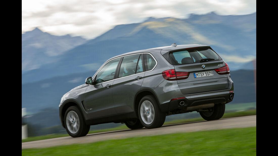 BMW X5 xDRIVE 30d, Heckansicht