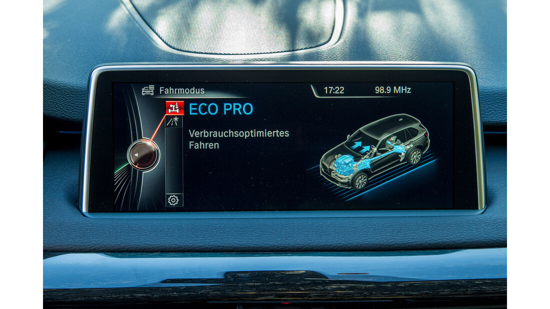 BMW X5 xDRIVE 30d, Infotainment, Monitor