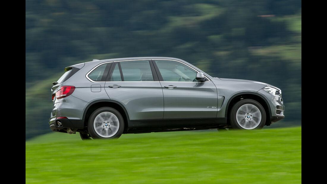 BMW X5 xDRIVE 30d, Seitenansicht