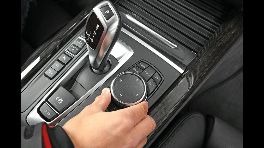 BMW X5 xDrive 25d, Bedienelemente