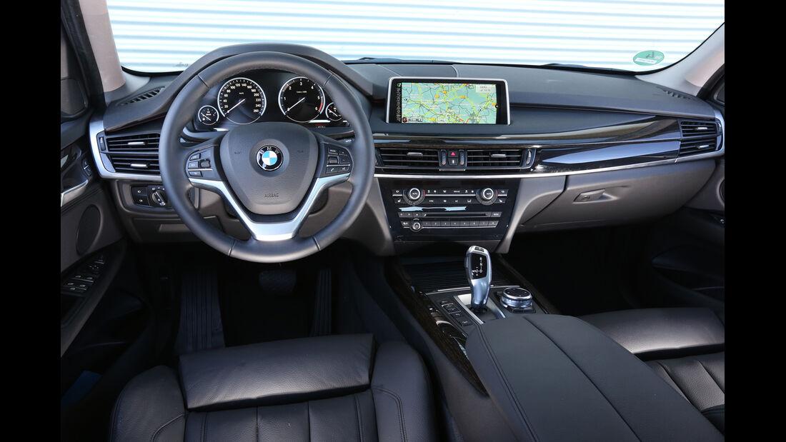 BMW X5 xDrive 25d, Cockpit