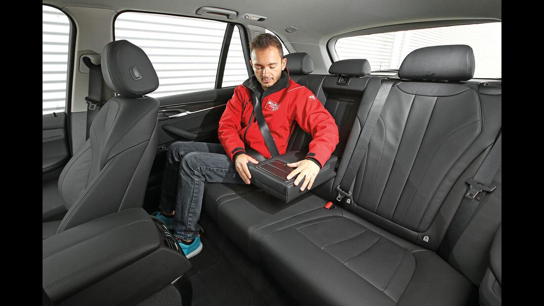 BMW X5 xDrive 25d, Fondsitz, Beinfreiheit