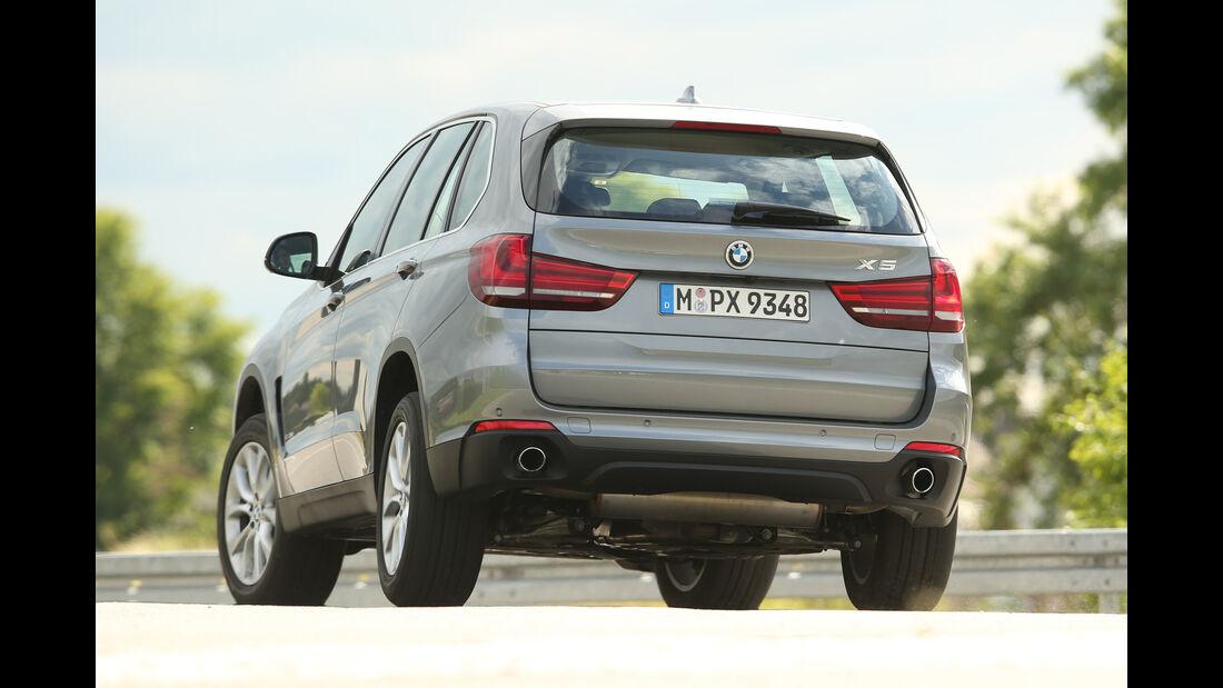 BMW X5 xDrive 25d, Heckansicht