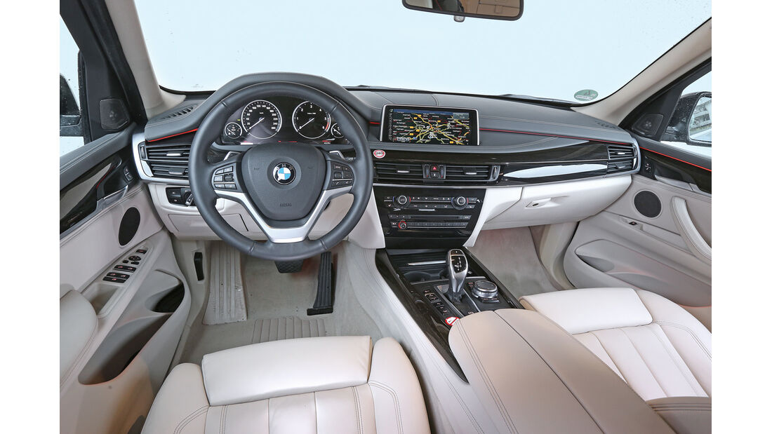 BMW X5 xDrive 30d, Cockpit