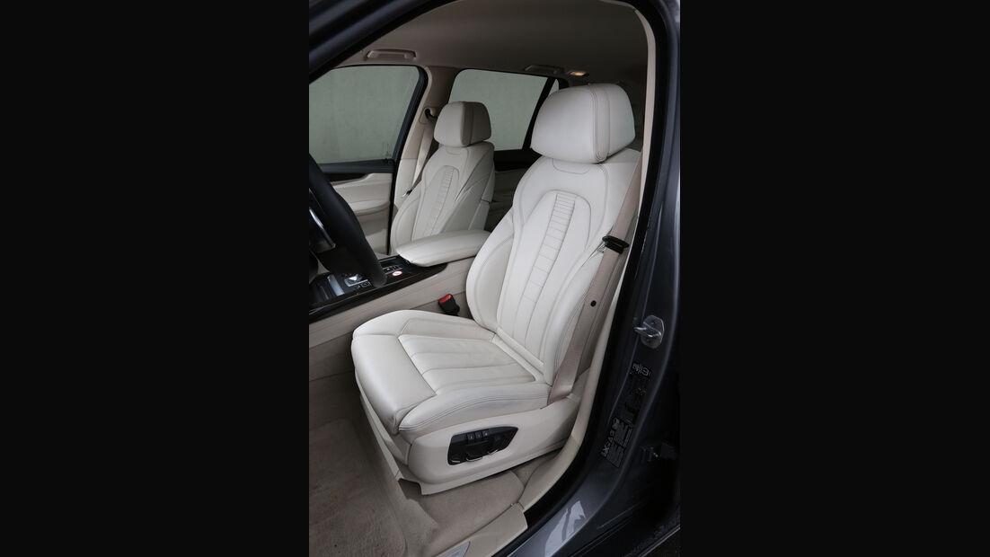 BMW X5 xDrive 30d, Fahrersitz