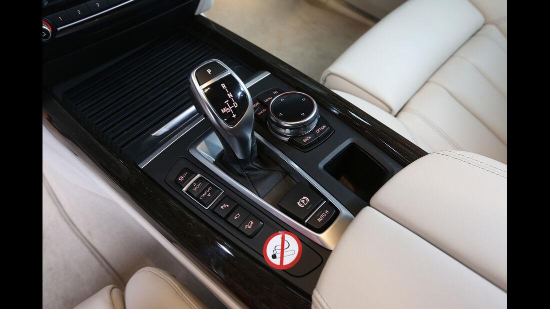 BMW X5 xDrive 30d, Mittelkonsole